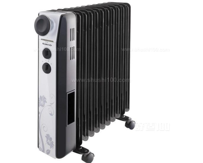 电热油汀取暖器又叫充油取暖器,它主要由密封式电热元件、金属加热管、铁散热片、控温元件、电源开关、指示灯等组成。这种取暖器是将电热管安装在散热片的腔体内部,在腔体内电热管周围注有导热油。当接通电源后,电热管周围的导热油被加热、升到腔体上部,沿散热管或散热片对流循环,通过腔体壁表面将热量辐射出去,从而加热空间环境。被空气冷却的导热油下降到电热管周围又被加热,开始新的循环。这种取暖器一般都装有双金属温控元件,当油温达到调定温度时,温控元件会自行断开电源。