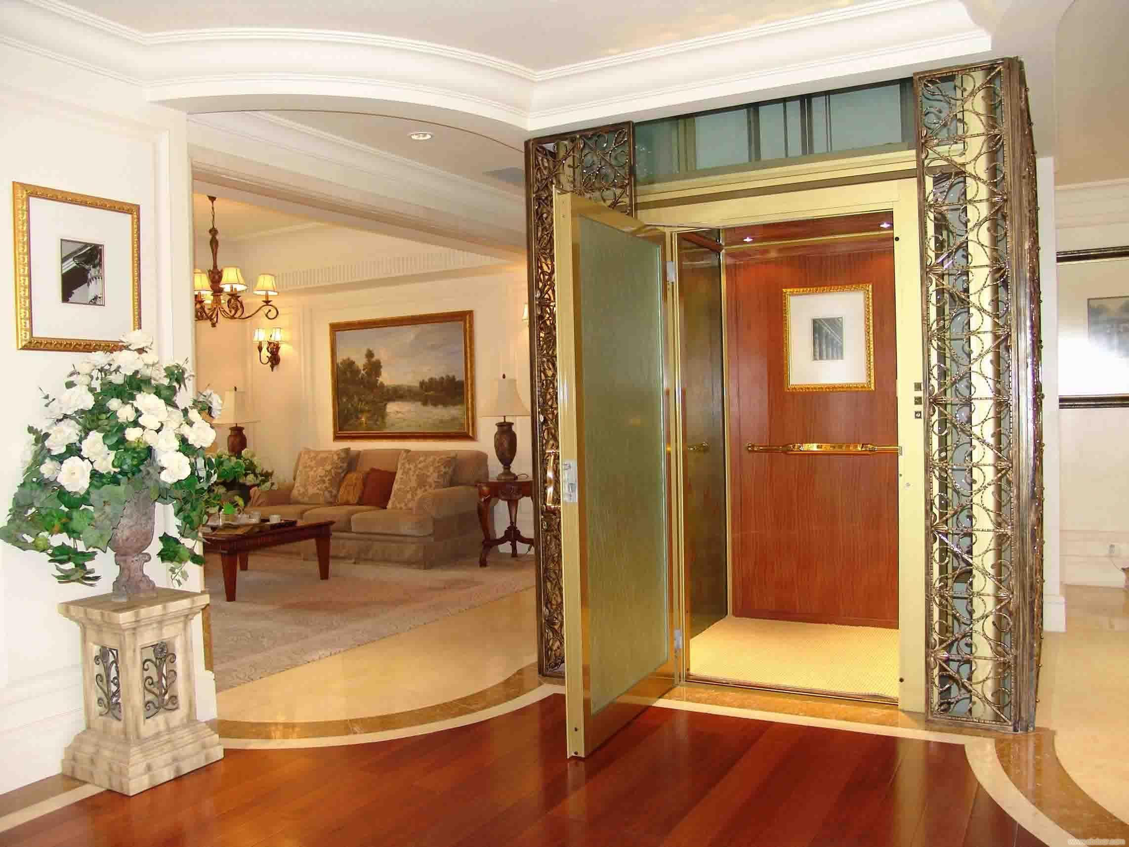 如果电梯购买没有较为盲目的一些别墅而清晰掌握安装人们别墅的话信息润园长治市图片