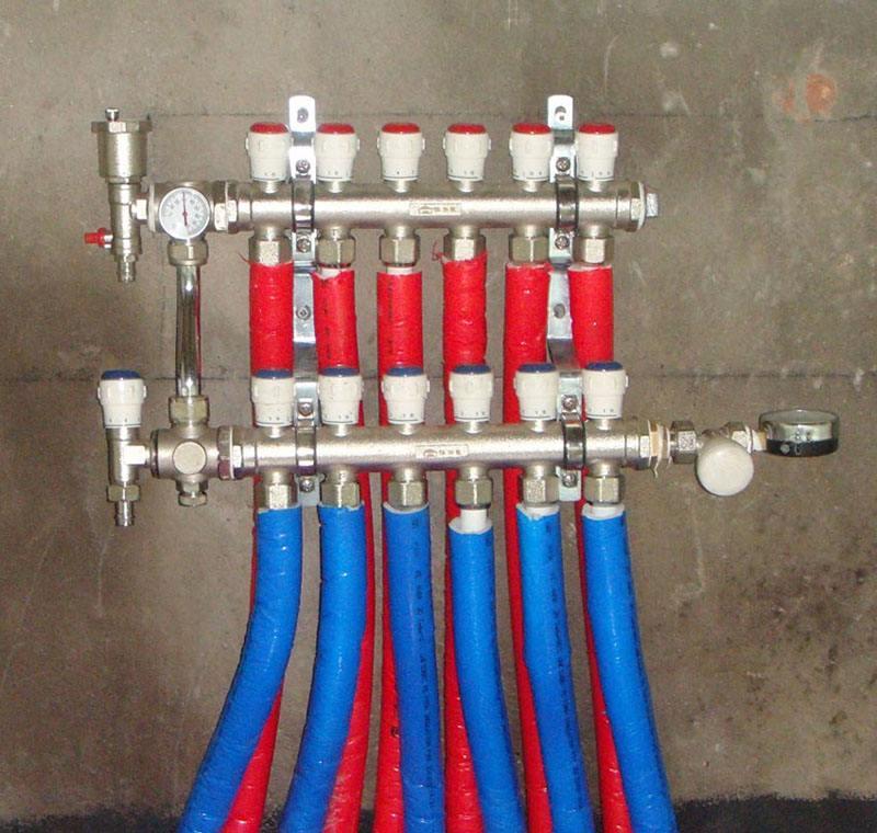 日丰地暖分水器价格—日丰地暖分水器贵吗图片
