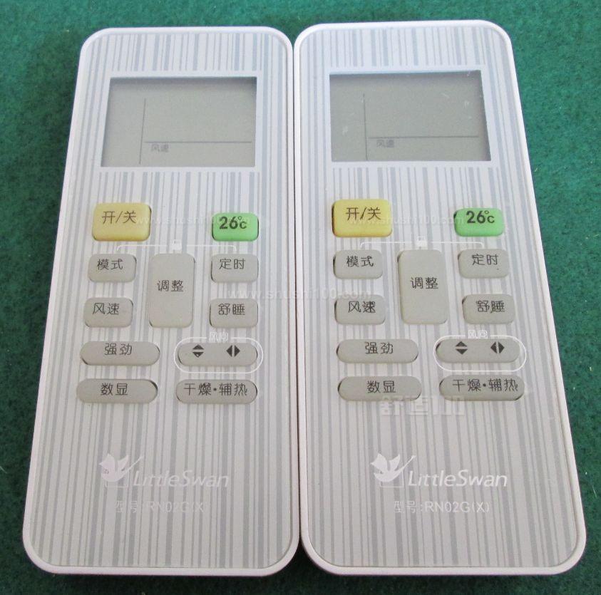 小天鹅空调遥控器使用—小天鹅空调遥控器如何使用