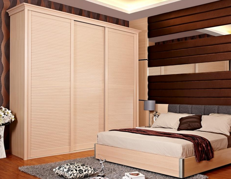 床炕衣柜一体化效果图
