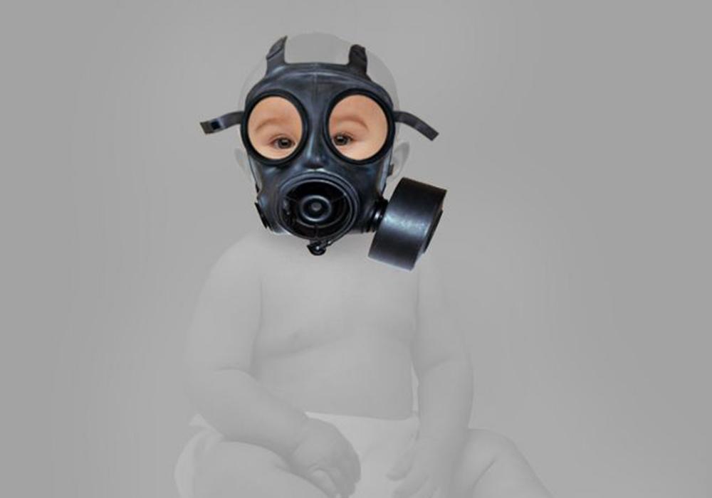 雾霾天 一个两岁孩子妈妈的自救