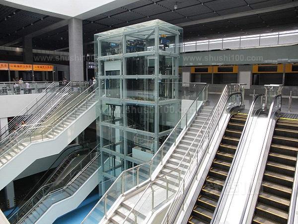 观光电梯钢结构井道设计,制作.