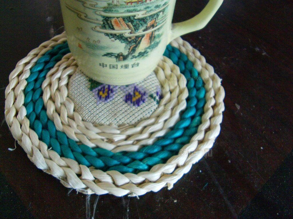 茶杯垫编织方法—茶杯垫怎么编织