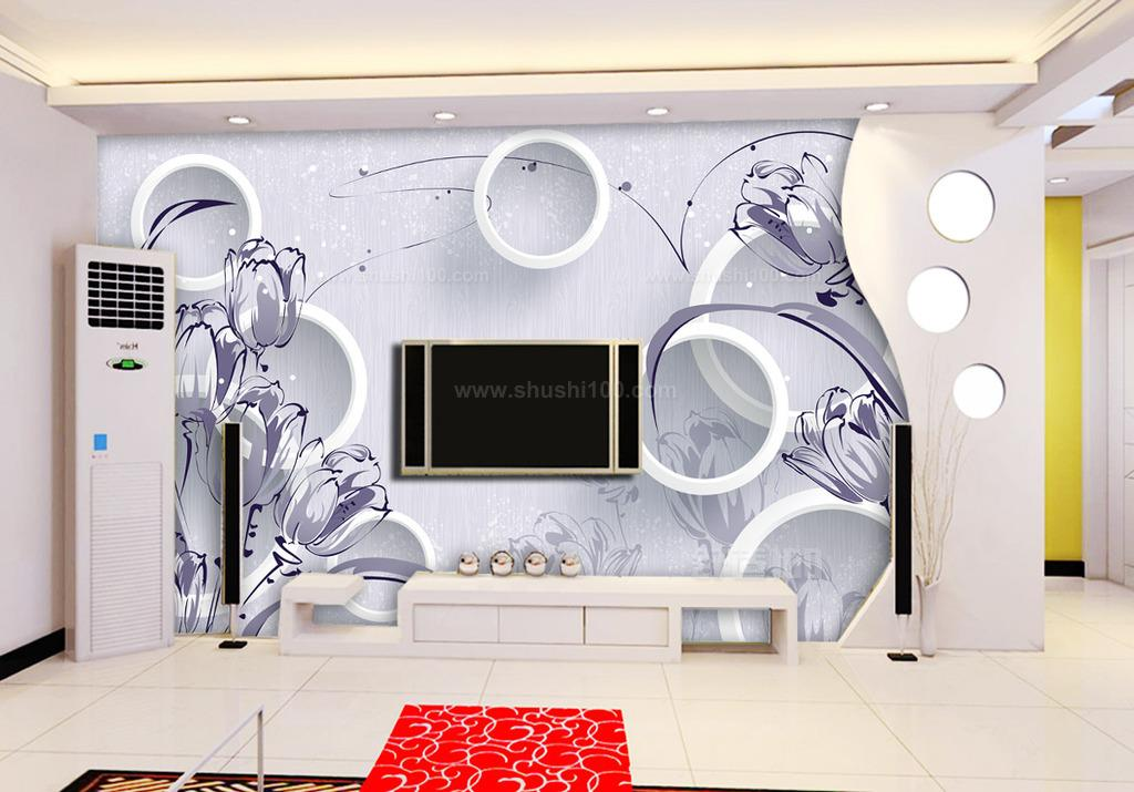 3d壁画背景墙装修效果图—身在画中游