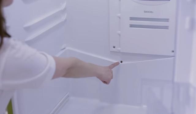 冰箱排水孔