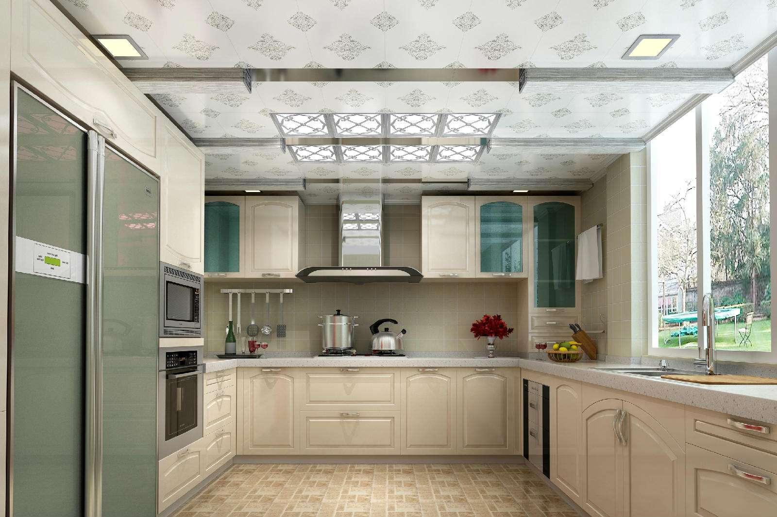 厨房吊顶用什么材料好—厨房用什么材料吊顶比较好