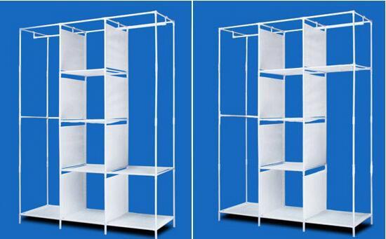 可折叠简易布衣柜好不好,安装步骤是什么?