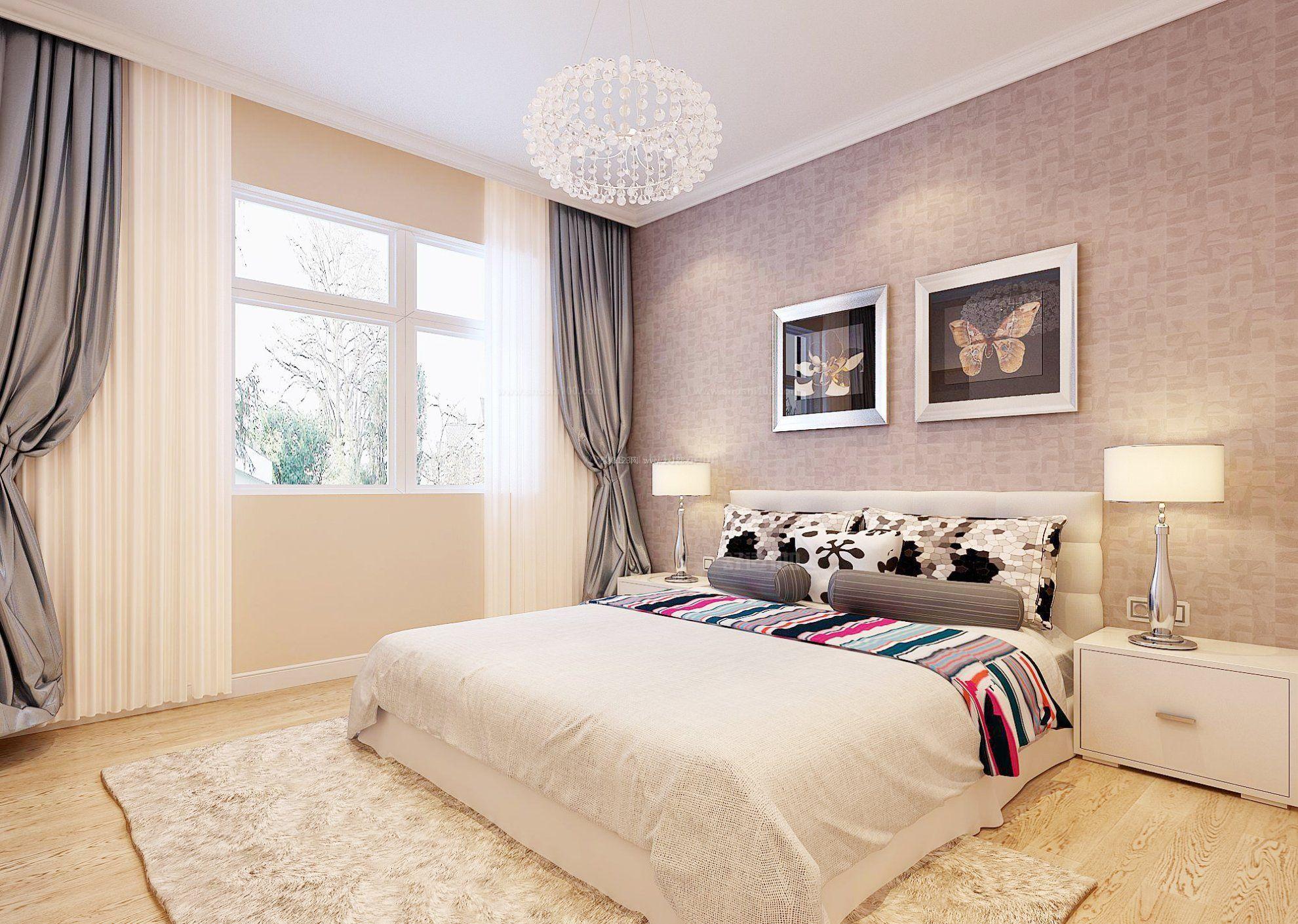卧室壁纸哪种颜色好—卧室壁纸颜色搭配详解