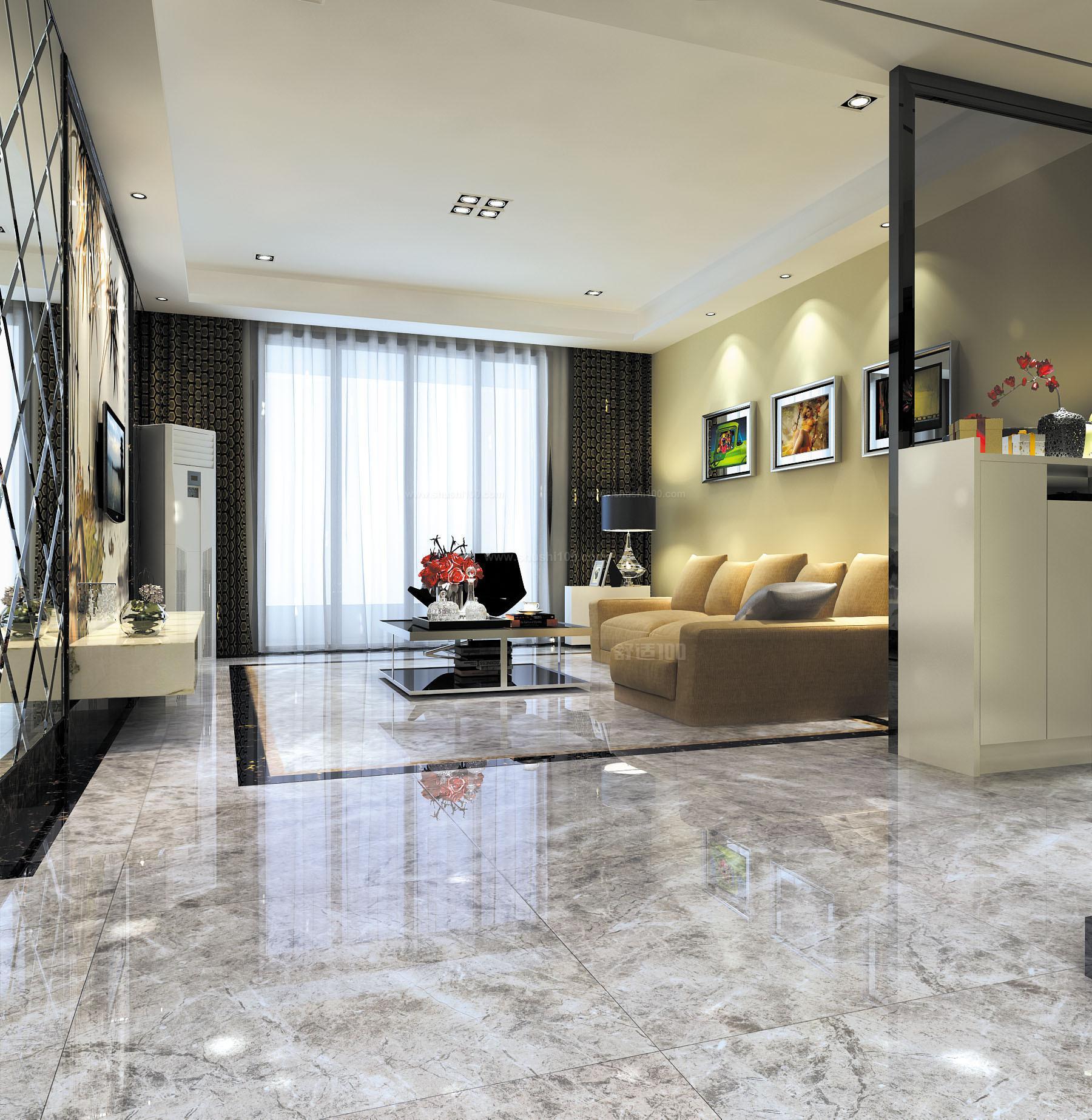 客厅装修用什么瓷砖好,客厅瓷砖选购须知