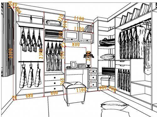 衣柜怎么画简笔画