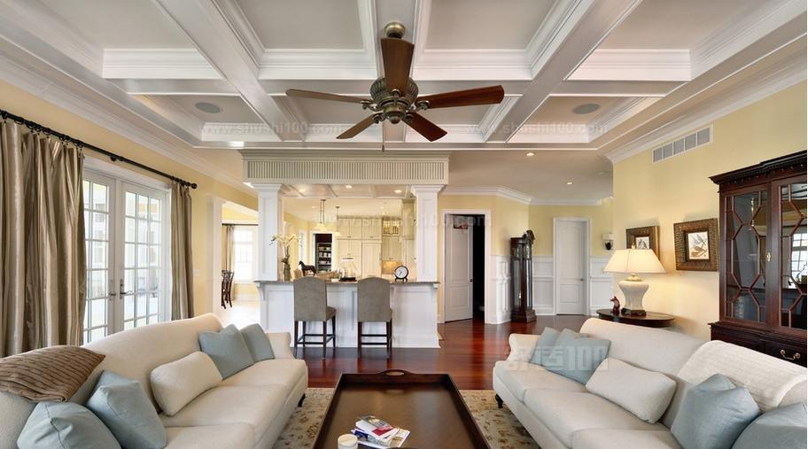 客厅吊顶天花板