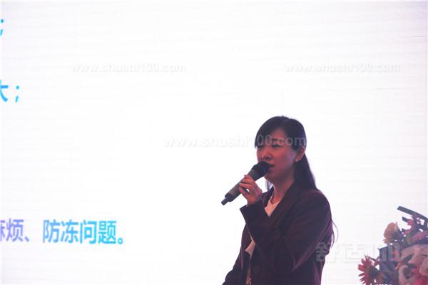 施诺中国·北区营销总监胡绍敏女士