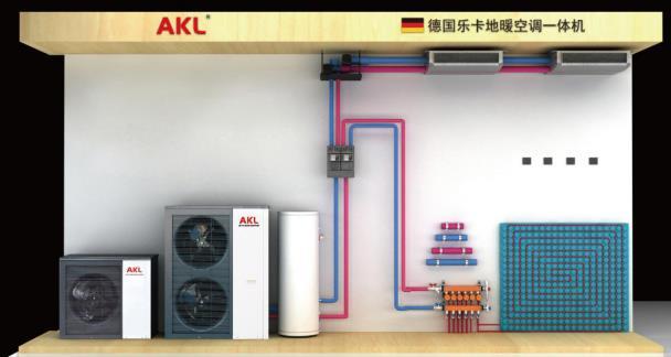 德国乐卡地暖空调一体机,打造超级静音冷暖生活,适用神经衰弱,失眠患者人群