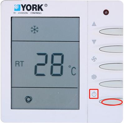 约克中央空调怎么设置暖风