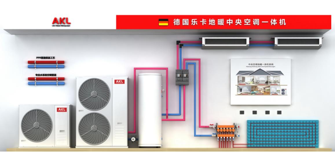 AKL Heatpump|德国AKL地暖中央空调|AKL Air Conditioner|地暖空调一体机获欧洲A++节能认证