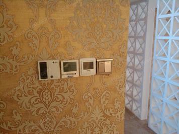 地暖安裝效果圖 溫控器精準調節溫度