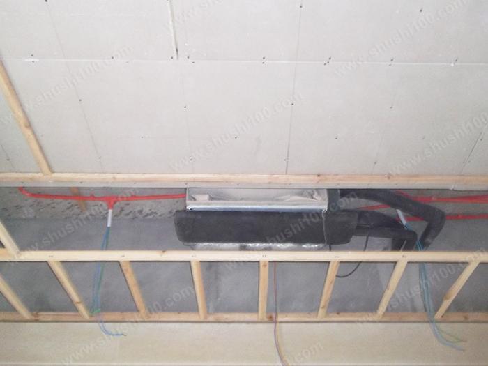 中央空调风机盘管安装完成之后,要进行吊顶 (4/7)
