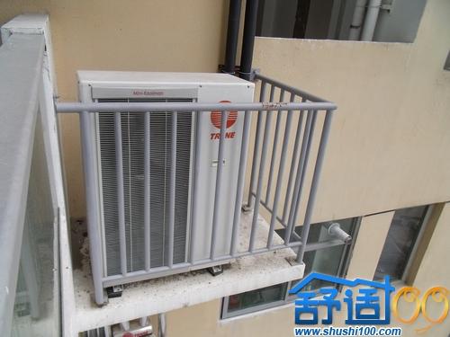 特灵中央空调室外机安装