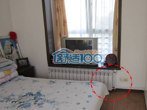 卧室暖气片装修效果图 ,置于窗台下方,安全又舒