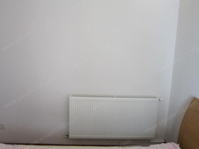 暖气片装修效果图 德美拉得暖气片釉质亮白,外观时尚