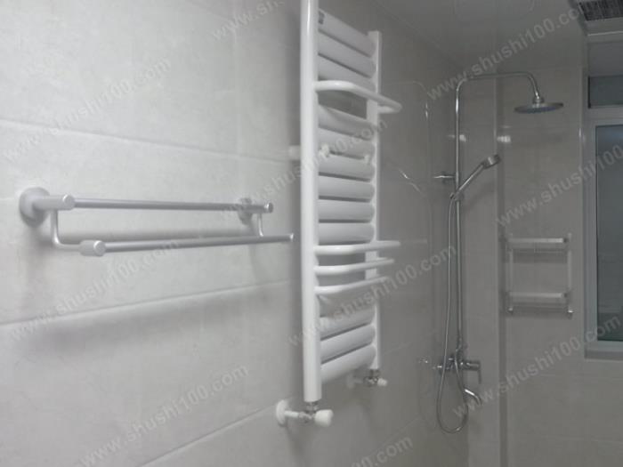 暗装暖气片安装效果图 卫浴专用背篓暖气片 (7/9)