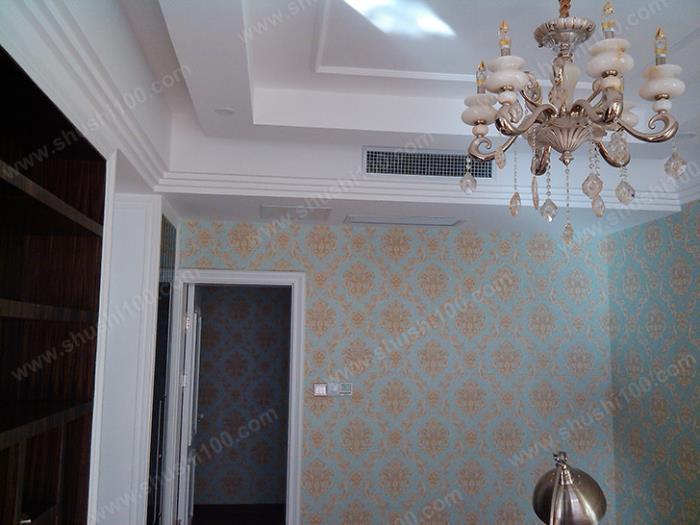 中央空调安装效果图 室内机藏于吊顶中