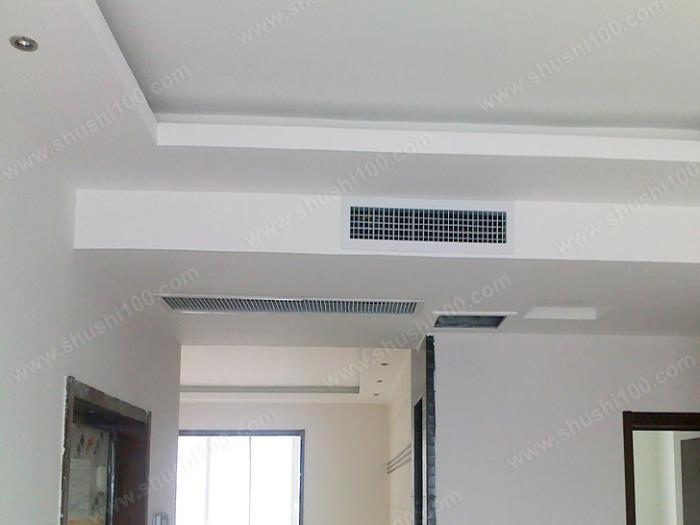 三菱重工中央空调安装效果图 吊顶之中节约室内空间 (5/6)
