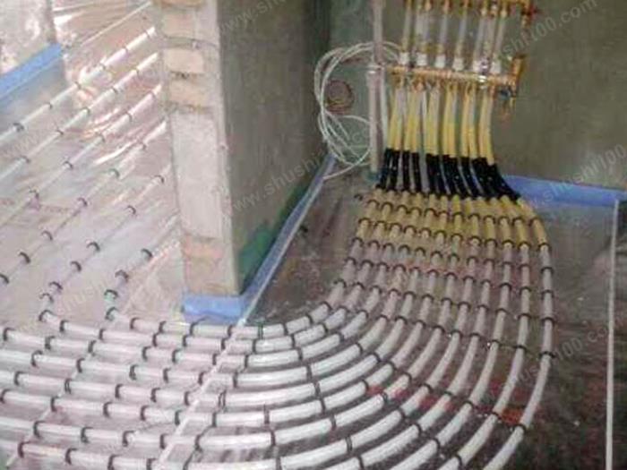 地暖施工图 地暖分集水器安装 (1/3)