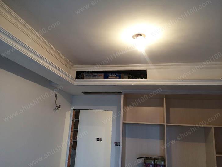 中央空调施工图 主机藏于吊顶之中