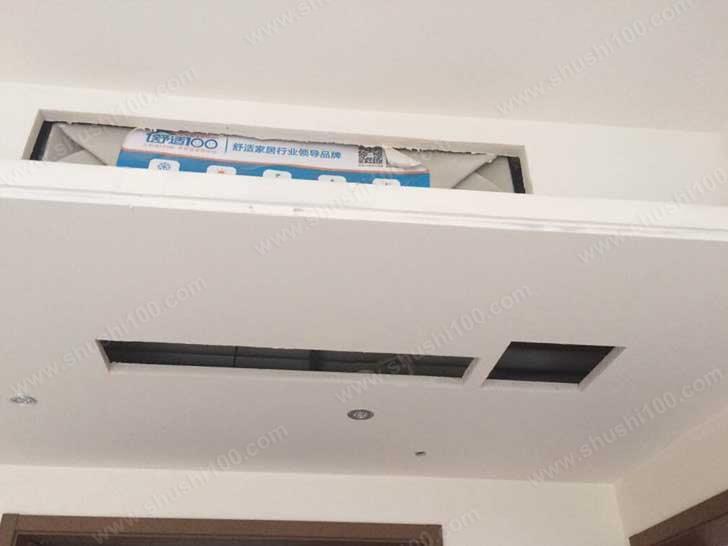 中央空调室内机吊顶施工图
