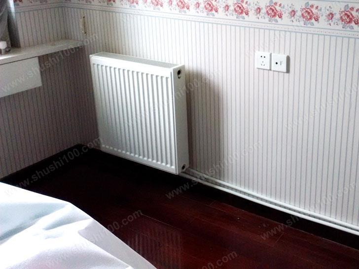 卫生间安装的暖气片