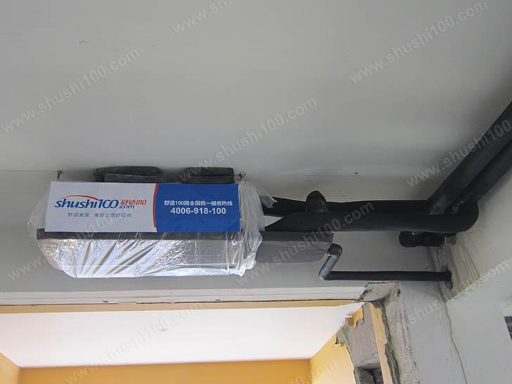 中央空调施工图 室内主机安装