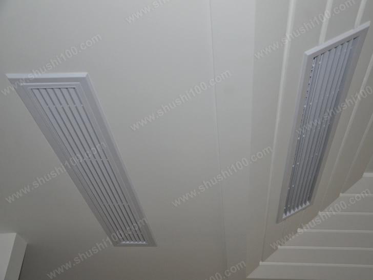中央空调效果图 融于室内装修