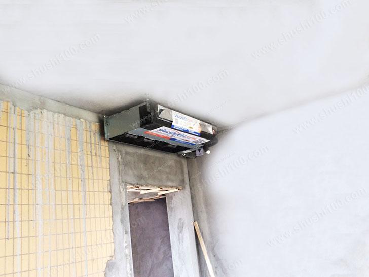 室内主机应选择合适安装位置