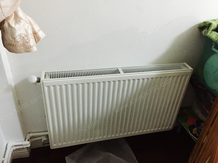 暖气片 施工完成