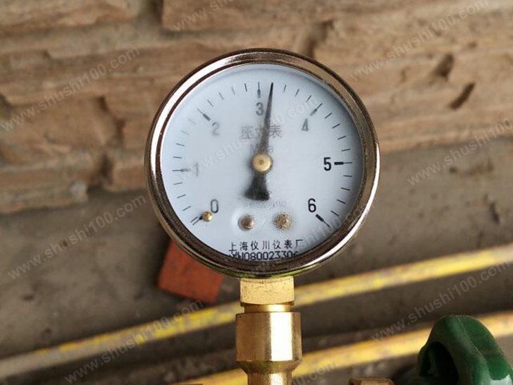 中央空调施工图 压力测试