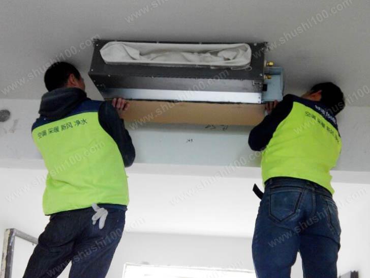 中央空调安装 三菱重工室内机吊顶安装