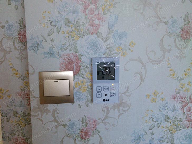 中央空调安装效果图—温控器