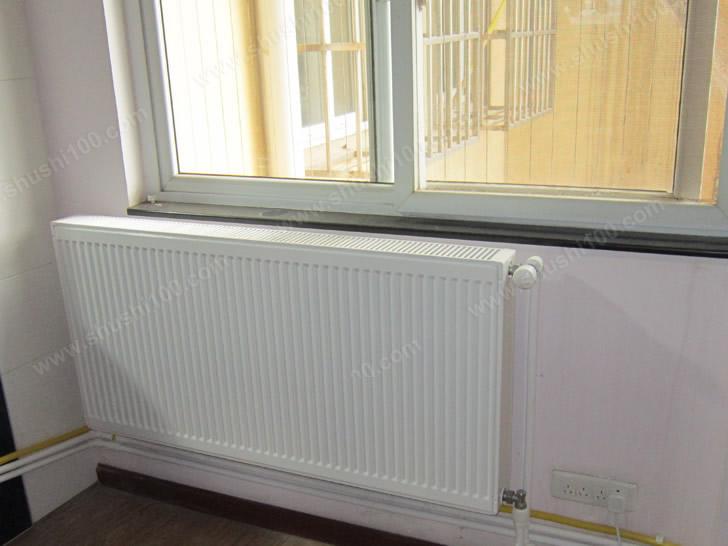 德美拉得暖气片客厅安装效果图