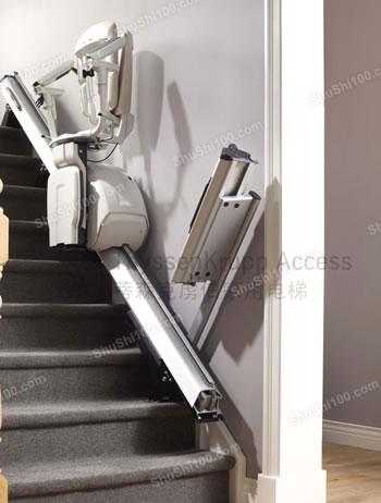 蒂森克虏伯无障碍电梯安装图片