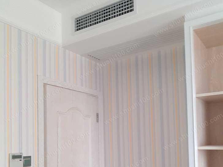 中央空调效果图 融入卧室装修风格