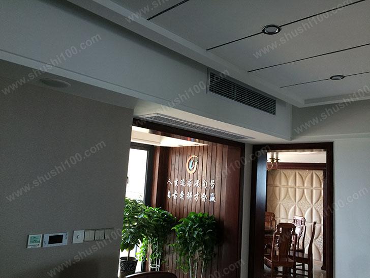 中央空调安装 出风口展示