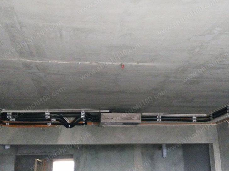 中央空调施工图 确定主机安装位置