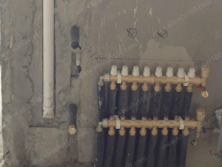 家庭采暖施工图 分集水器安装