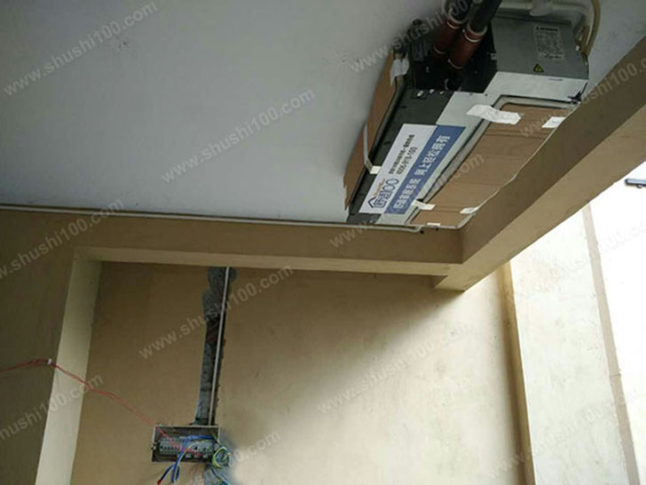 中央空调安装 室内机吊装