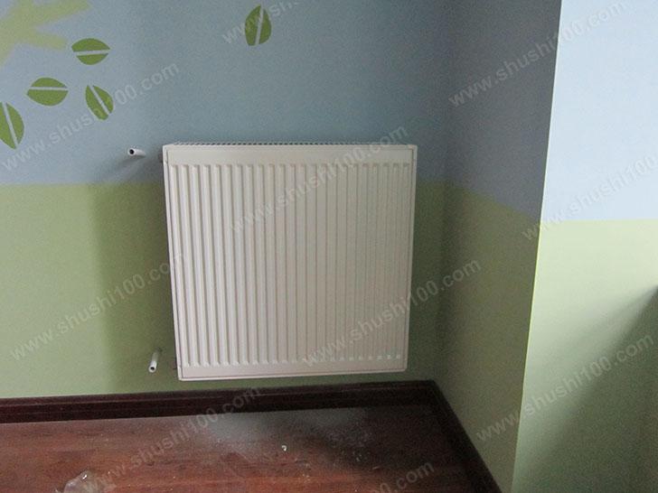 暖气片安装效果图 与装修风格不冲突