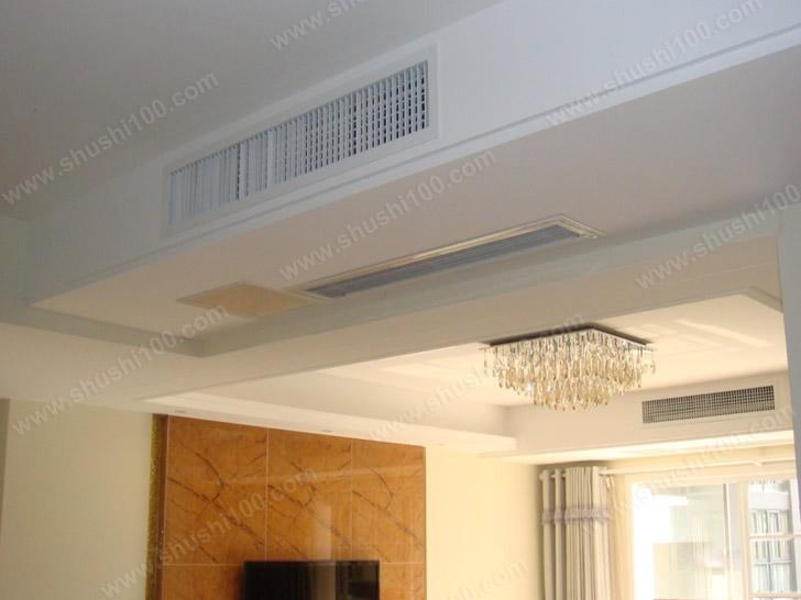 中央空调效果图 风口隐藏安装