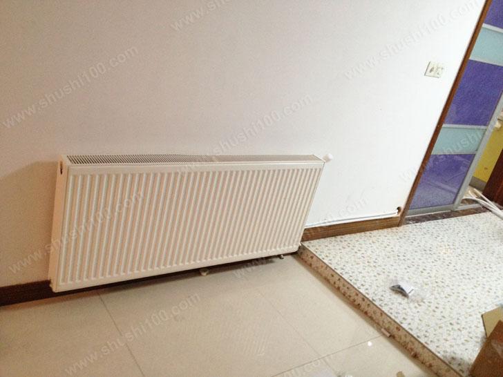 无锡明装暖气片工程案例—江阴花园一村暖气片安装效果图