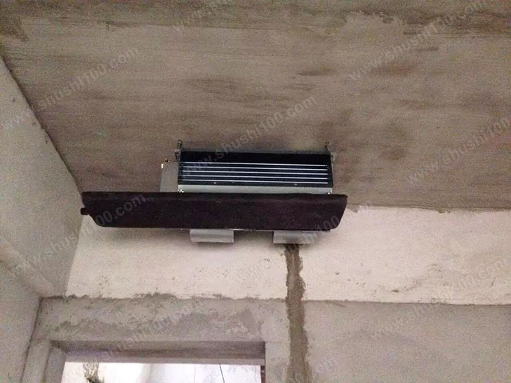 中央空调施工图 中央空调室内机安装规范美观
